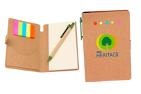 Eco-Sticky-Note-Memo-Pad-w-Recycled-Paper-Pen-ES76-29