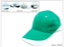 Heavy-Brush-Cotton-Cap-Green_White-K3001-35