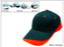 Heavy-Brush-Cotton-Cap-Black_Orange-K3001-35